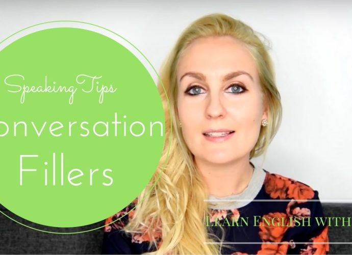 Conversation Fillers- How to delay your answers Learn English with julia