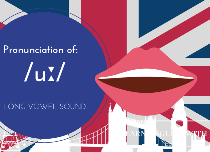 LONG vowel sound _uː_ Learn English with Julia