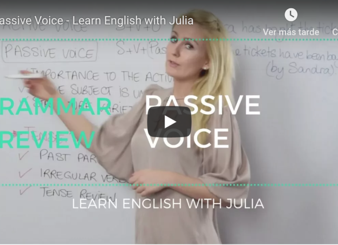 Passive Voice Learn English with Julia