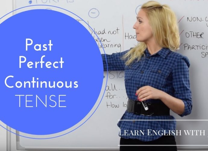 Past Perfect Continuous Tense - English Grammar with Julia