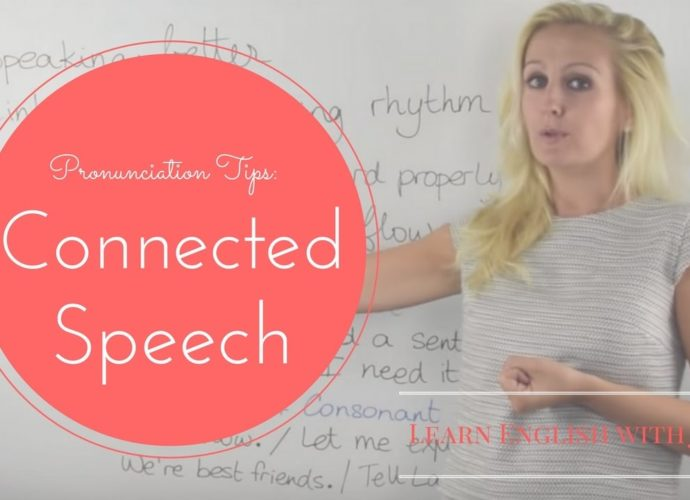 Pronunciation Tips in English: Connected Speech - Learn English with Julia