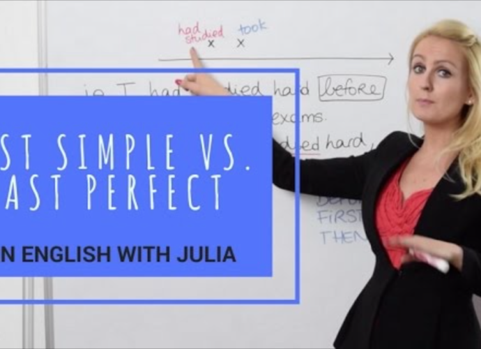 Simple Past v. Past Perfect Tense - English Grammar with julia