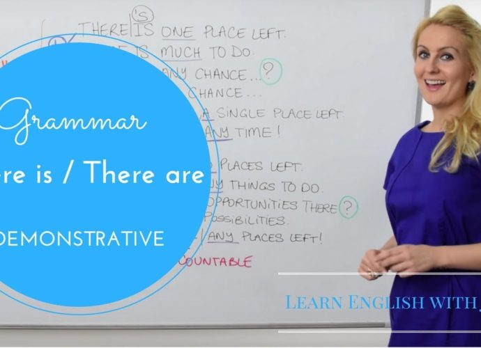 There is and There are - Learn English with Julia