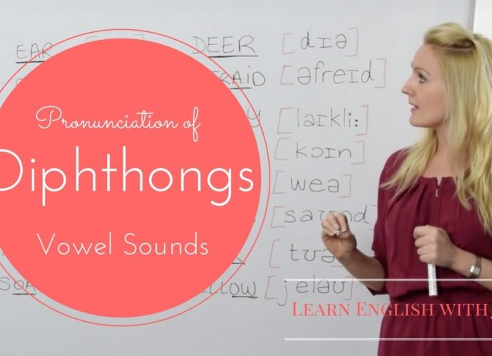 diphthongs gliding vowel sounds learn english with julia