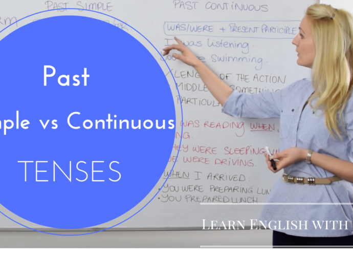 past simple vs past continuous tenses learn english with julia