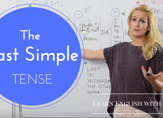 the past simple or simple past tense learn english with julia.png