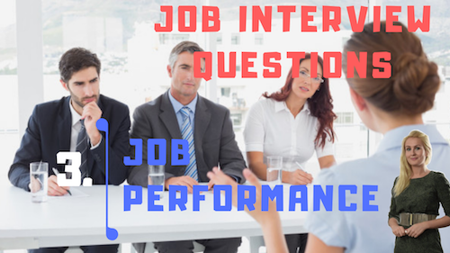 Job Interview Tips Part 3 Job performance Learn English with Julia