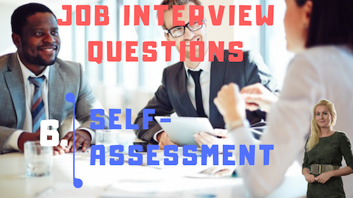 Job Interview Tips Part 6 Self-assessment Learn English with Julia