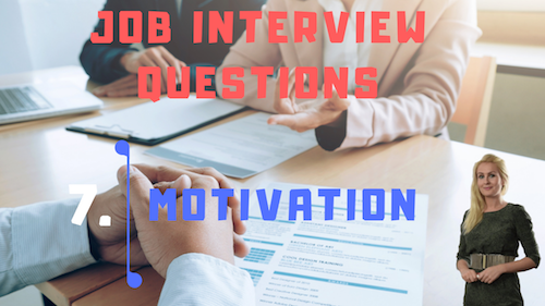 Job Interview Tips Part 7 Motivation Learn English with Julia