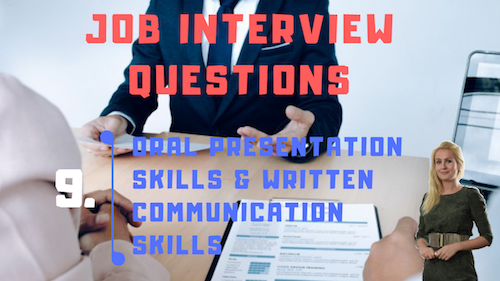 Job Interview Tips Part 9 Oral presentation skills and written communication skills Learn English with Julia